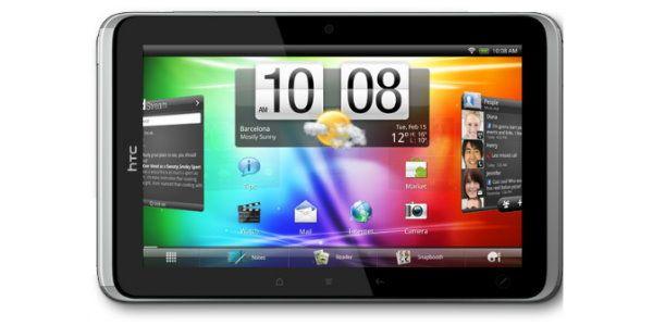 HTC stellt erstes Tablet mit HTC Sense vor