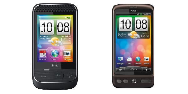 HTC Smart und HTC Desire
