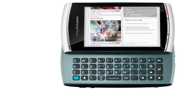 Sony Ericsson Vivaz pro Handy