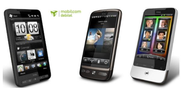 mobilcom debitel & HTC HD2 - Desire - Legend