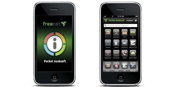 freenet Pocket Auskunft