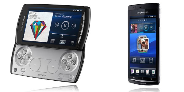 Sony Ericsson Xperia PLAY und Xperia arc
